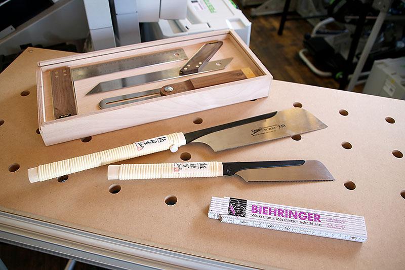 Schreiner-Winkel, Japan-Sägen u.a.m.