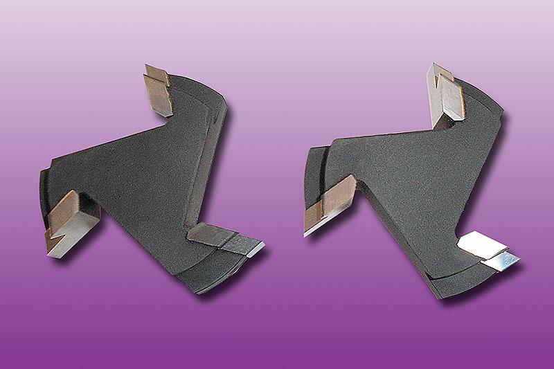 HW-bestückter Profil-Kontur-Schaftfräser