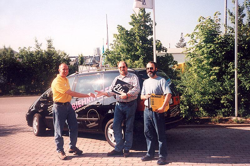 Preisverleihung anlässlich der Geomesse 2001
